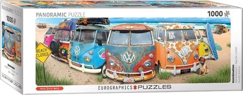 VW Kombination Panorama Puzzel (1000 stukjes)