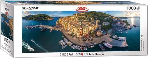 Porto Venere Italy Panorama Puzzel (1000 stukjes)
