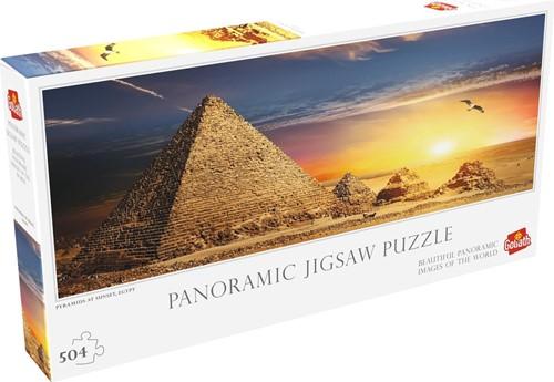 Pyramids at Sunset Egypt Puzzel (504 stukjes)