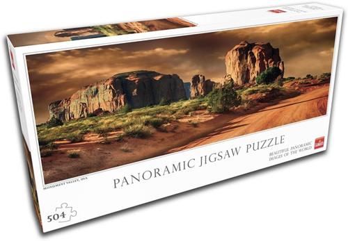 Monument Valley Panorama Puzzel (504 stukjes)