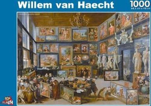 Kunstgallerij - Willem van Haecht Puzzel (1000 stukjes)