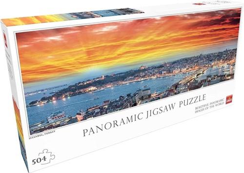 Istanbul Panorama Puzzel (504 stukjes)