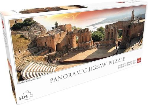 Taormina Theatre Panorama Puzzel (504 stukjes)
