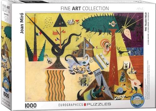 Joan Miro - The Tilled Field Puzzel (1000 stukjes)