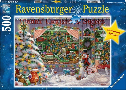 The Christmas Shop Puzzel (500 stukjes)