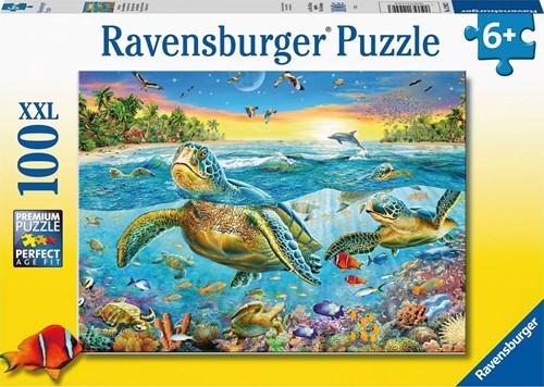 Zeeschildpadden Puzzel (100 XXL stukjes)