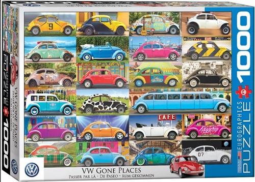 VW Gone Places Puzzel (1000 stukjes)