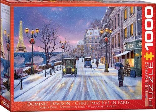 Christmas Eve in Paris Puzzel (1000 stukjes)