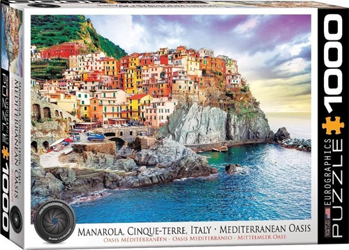 Manarola Cinque - Terre Italy Puzzel (1000 stukjes)
