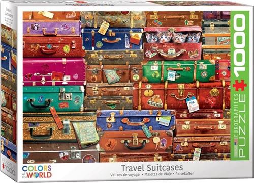 Travel Suitcases Puzzel (1000 stukjes)