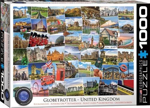 Globetrotter - United Kingdom Puzzel (1000 stukjes)