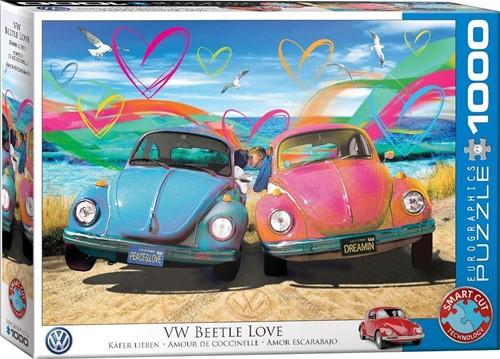 VW Beetle Love - Parker Greenfield Puzzel (1000 stukjes)