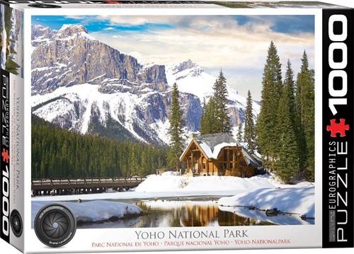 Yoho National Park, British Columbia Puzzel (1000 stukjes)