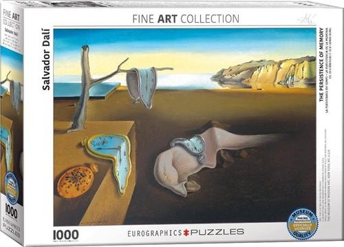 The Persistence of Memory - Salvador Dali Puzzel (1000 stukjes)