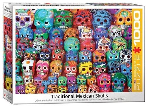 Traditional Mexican Skulls Puzzel (1000 stukjes)