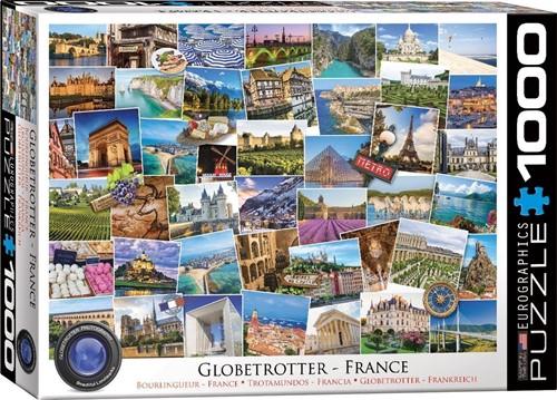 France - Globetrotter Puzzel (1000 stukjes)