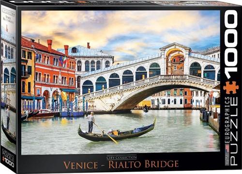 Venice Rialto Bridge Puzzel (1000 stukjes)