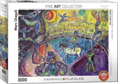 Marc Chagall - The Circus Horse Puzzel (1000 stukjes)