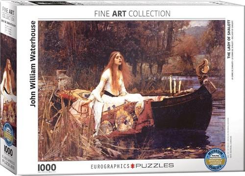 Waterhouse - The Lady of Shalott Puzzel (1000 stukjes)