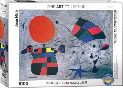 Joan Miro - The Smile of the Flamboyant Puzzel (1000 stukjes)