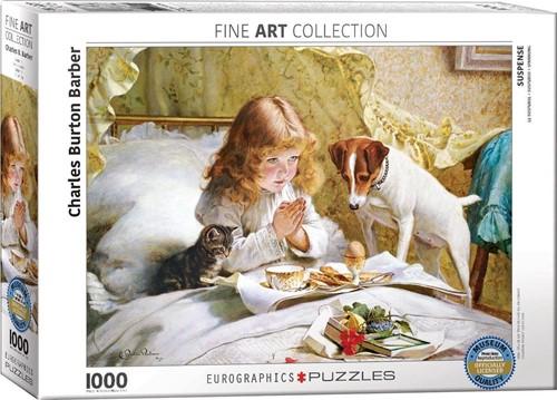 Suspense - Burton Barber Puzzel (1000 stukjes)