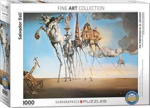 Salvador Dalí  - The Temptation of St. Anthony Puzzel (1000 stukjes)