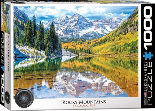 Rocky Mountain National Park Puzzel (1000 stukjes)
