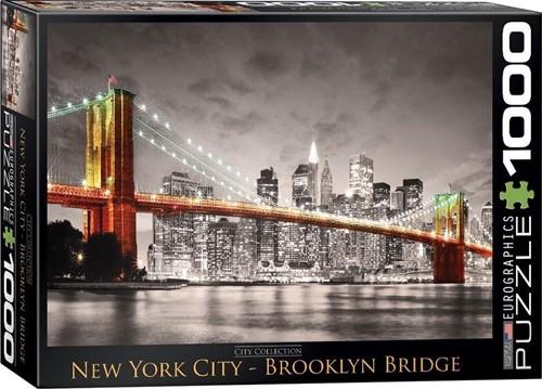 New York City - Brooklyn Bridge Puzzel (1000 stukjes)