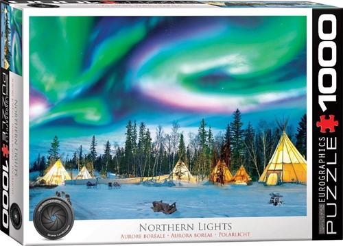 Northern Lights - Yellowknife Puzzel (1000 stukjes)
