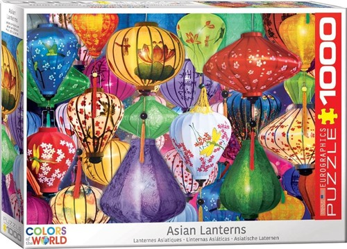 Asian Lanterns Puzzel (1000 stukjes)