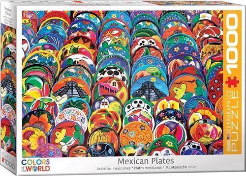 Mexican Ceramic Plates Puzzel (1000 stukjes)