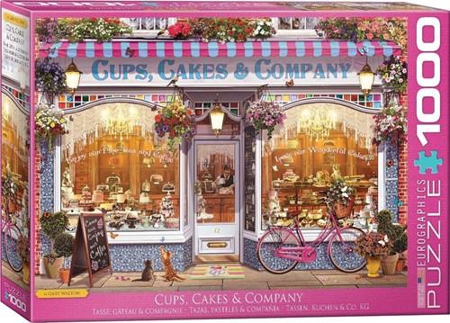 Cups, Cakes & Company Puzzel (1000 stukjes)