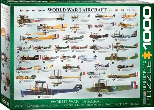 World War I Aircraft Puzzel (1000 stukjes)