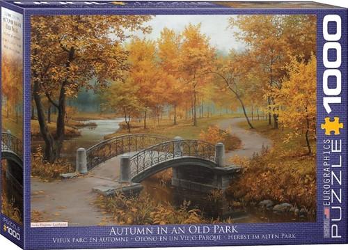Autumn in an Old Park Puzzel (1000 stukjes)