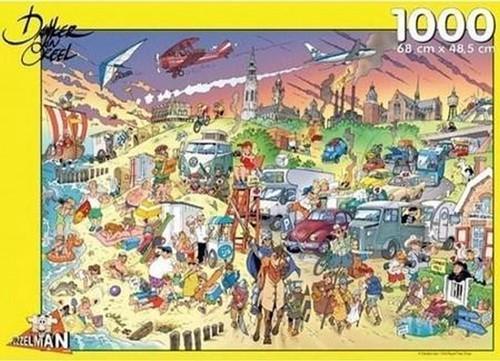 Strand - Danker Jan Puzzel (1000 stukjes)
