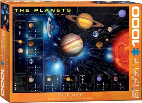 The Planets Puzzel (1000 stukjes)