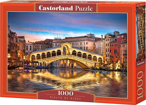 Rialto by Night Puzzel (1000 stukjes)
