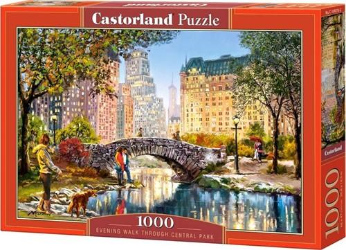 Evening Walk Through Central Park Puzzel (1000 stukjes)