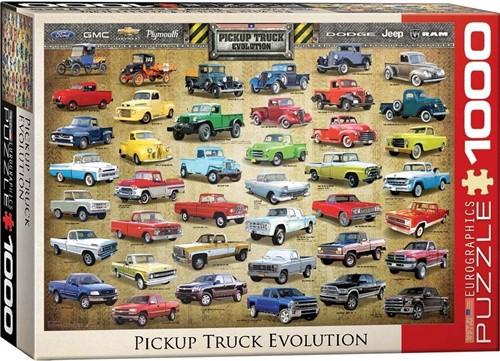 Pickup Truck Evolution Puzzel (1000 stukjes)