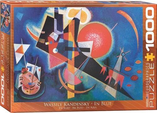 In Blue - Wassily Kandinsky Puzzel (1000 stukjes)