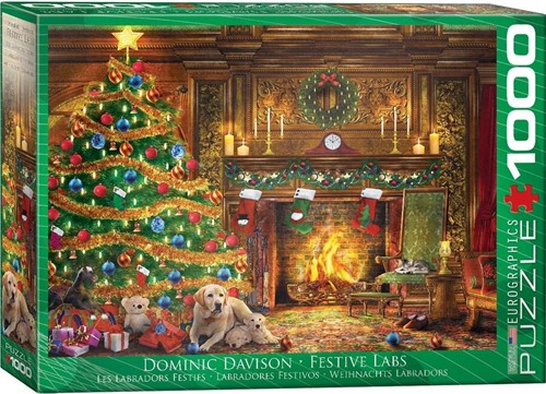 Festive Labs - Dominic Davison Puzzel (1000 stukjes)