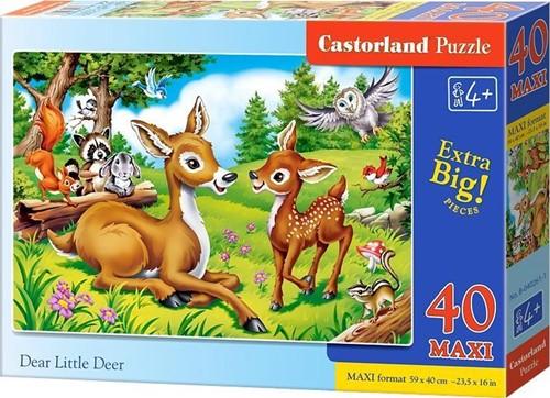 Dear Little Deer Puzzel (40 MAXI stukjes)