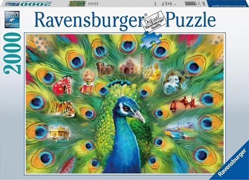 Land of the Peacock Puzzel (2000 stukjes)