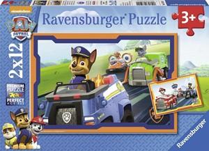 Paw Patrol in Actie Puzzel (2x12 stukjes)