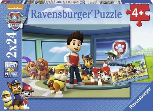 Paw Patrol Hulpvaardige Speurneuzen Puzzel (2x24 stukjes)