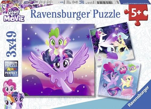 My Little Pony Puzzel (3x49 stukjes)