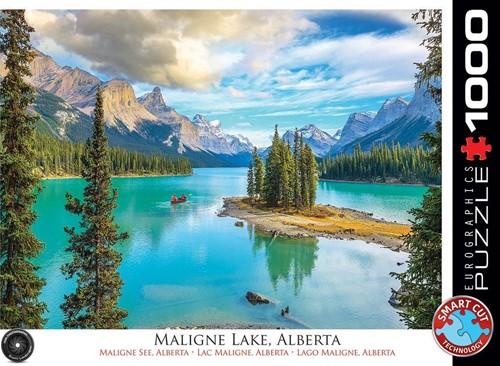Maligne Lake Alberta Puzzel (1000 stukjes)