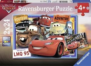 Disney Cars Puzzel (2 x 24 stukjes)