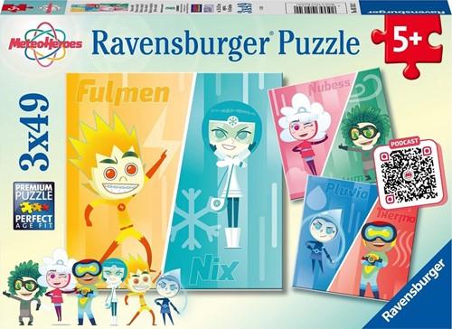 Missie Volbracht! Puzzel (3 x 49 stukjes)