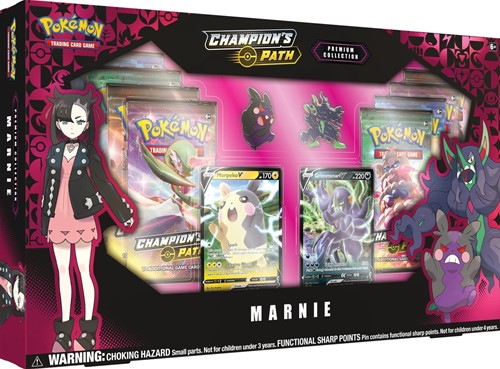 Pokemon Champion's Path - Premium Collection Marnie